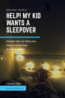 Help! My kid wants a sleepover