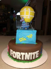 Fortnite Supply Drop Cake