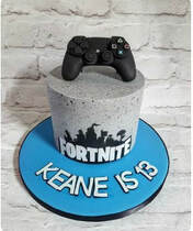 Fortnite PS4 Xbox Cake