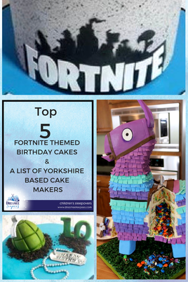Top 5 Fortnite Themed Birthday Cakes in Yorkshire