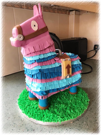 Fortnite Loot Lama Cake