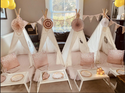 Interview 1 - Successful Teepee Sleepover Business Owners 1